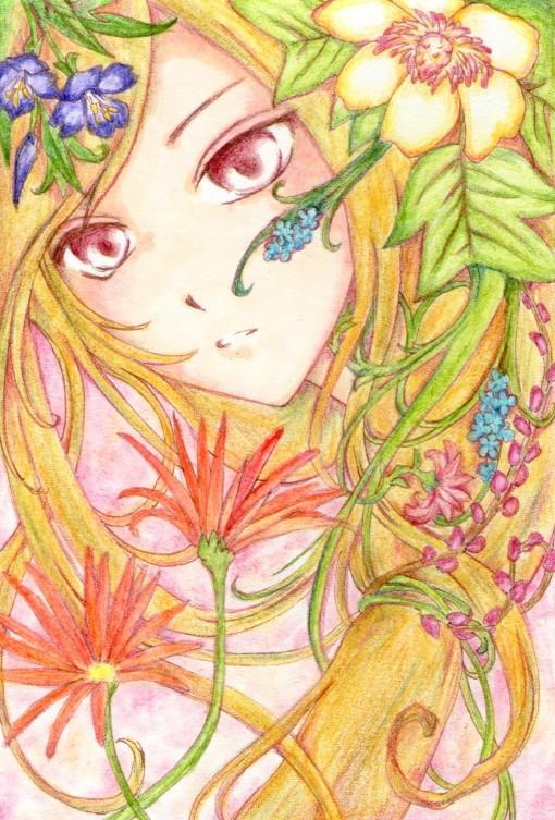 赤い瞳の少女